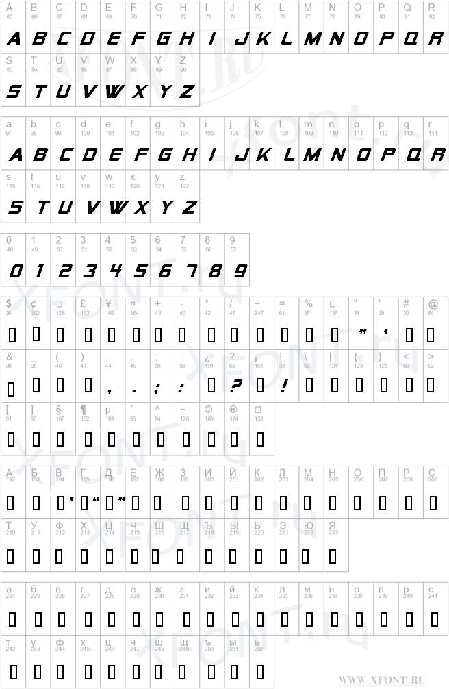 Alien Encounters Solid Bold Italic
