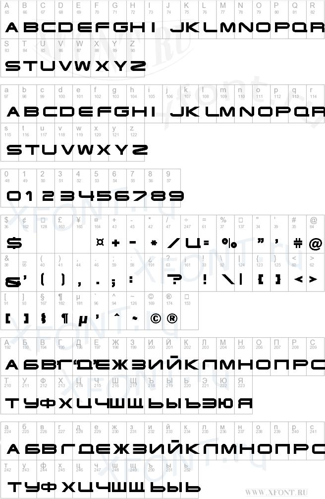 Terminator Cyr 4 Шрифт Скачать Бесплатно