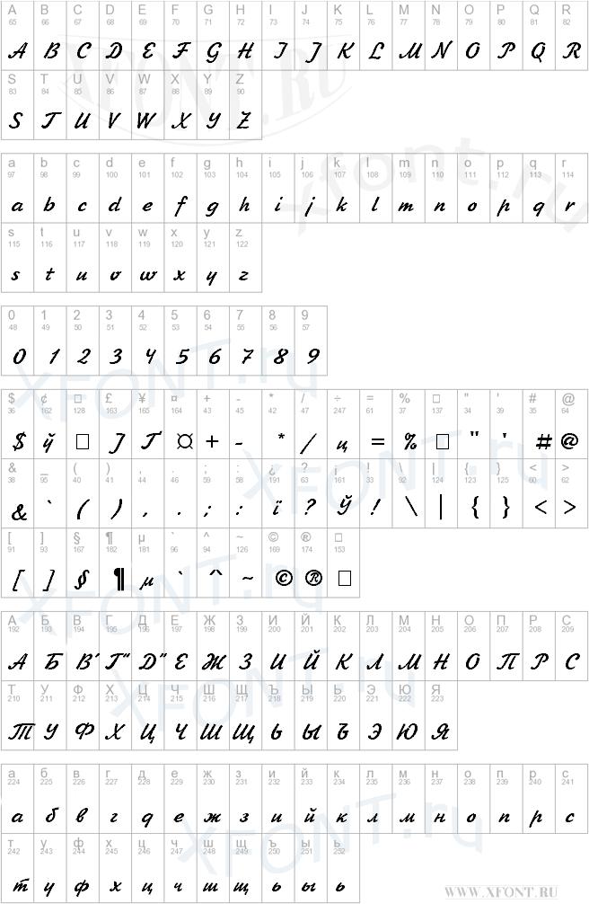 Рукописные шрифты русские скачать