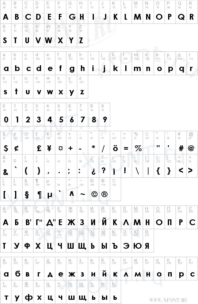 Шрифты русские шрифты просмотров 328