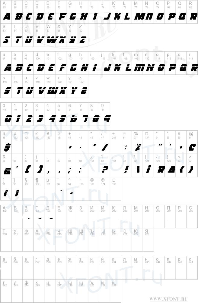 Шрифты rogue hero laser italic