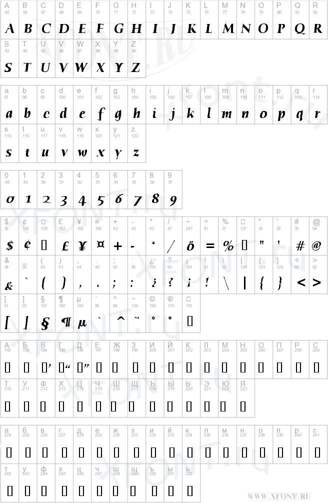 Humana Serif ITC TT BoldItalic