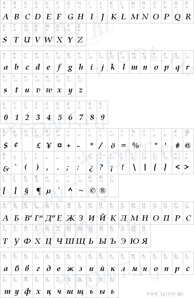 Book Antiqua Bold Italic