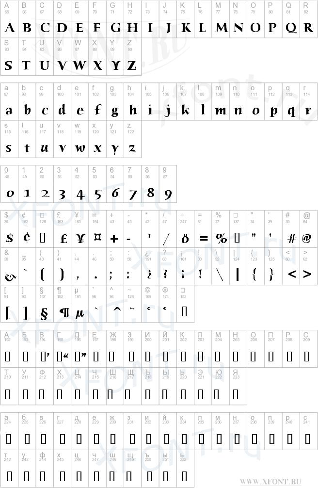 Humana Serif ITC TT Bold