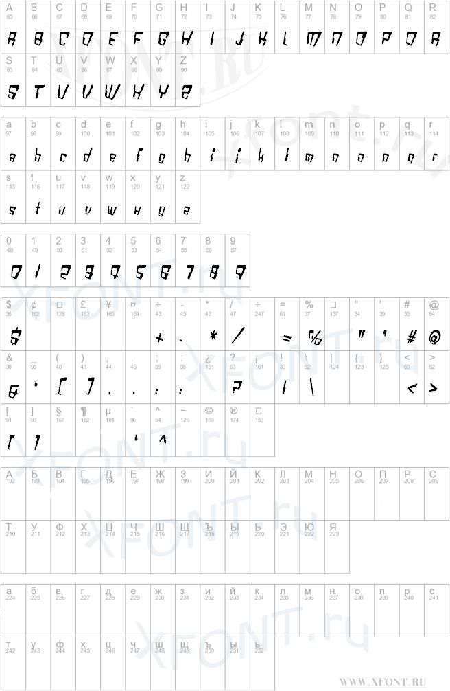 VTC Bad DataTrip Regular Italic