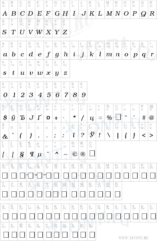 BookmanCTT Italic