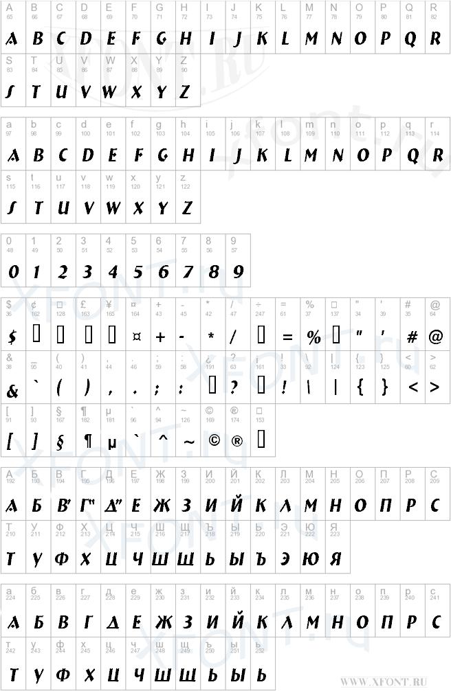 a_BremenNr Italic