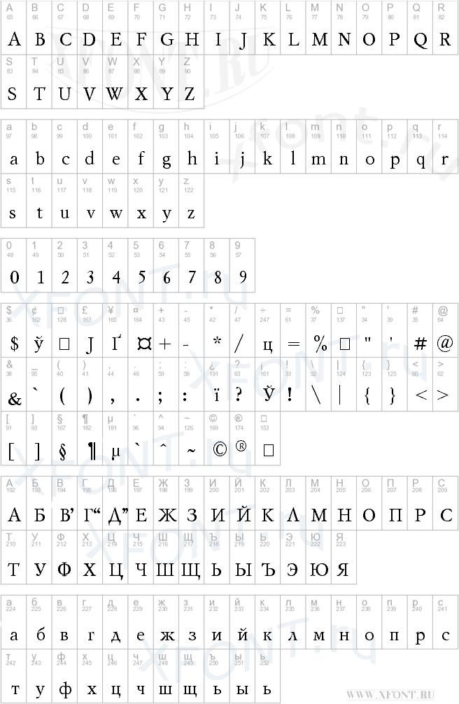 Mysl Cyrillic