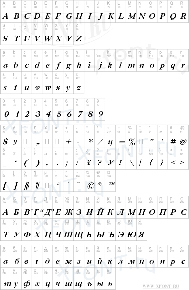 Gazeta Titul Bold Italic