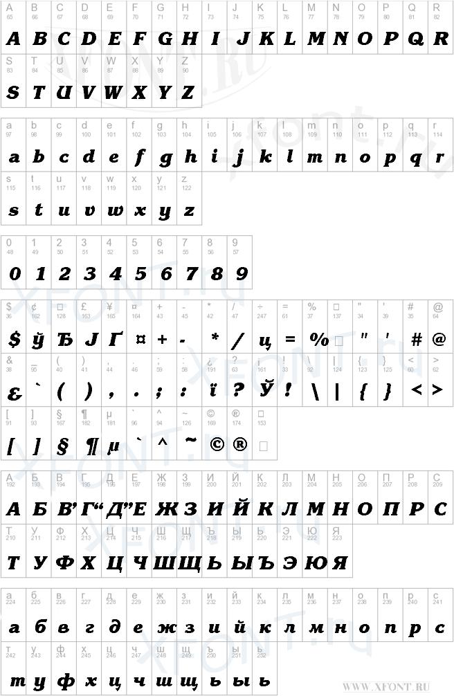 KorinnaBlackCTT BoldItalic
