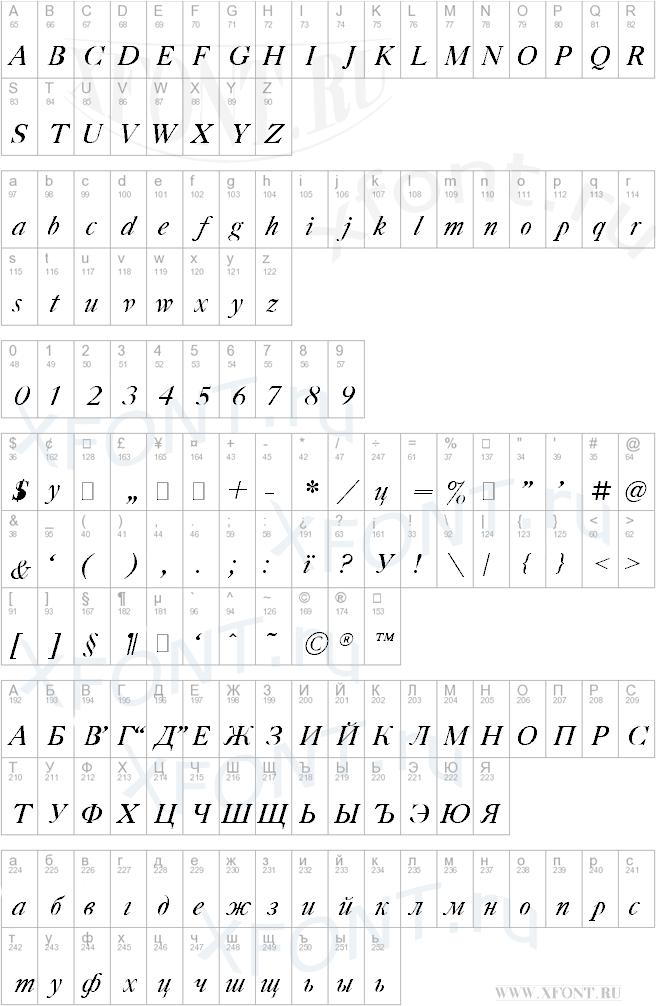 Gazeta Titul Italic