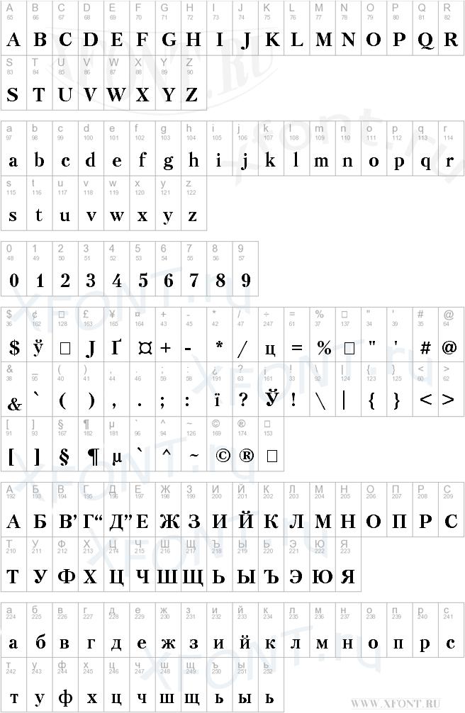 Petersburg Bold Cyrillic