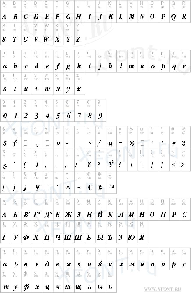 Classic Russian Bold Italic:001.001