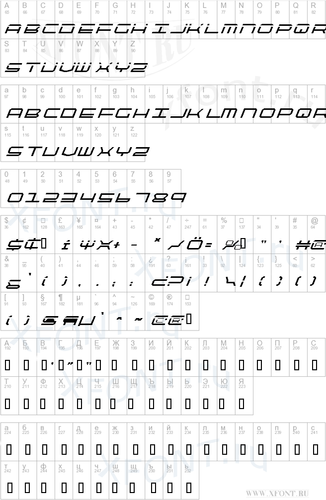 QuickTech Italic