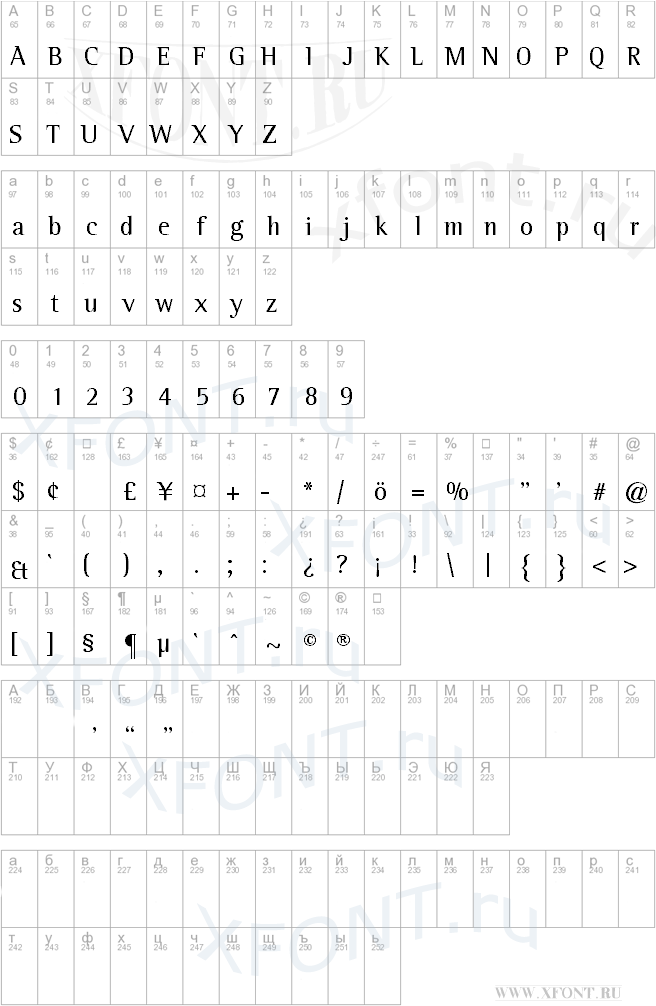 Leftist Mono Serif