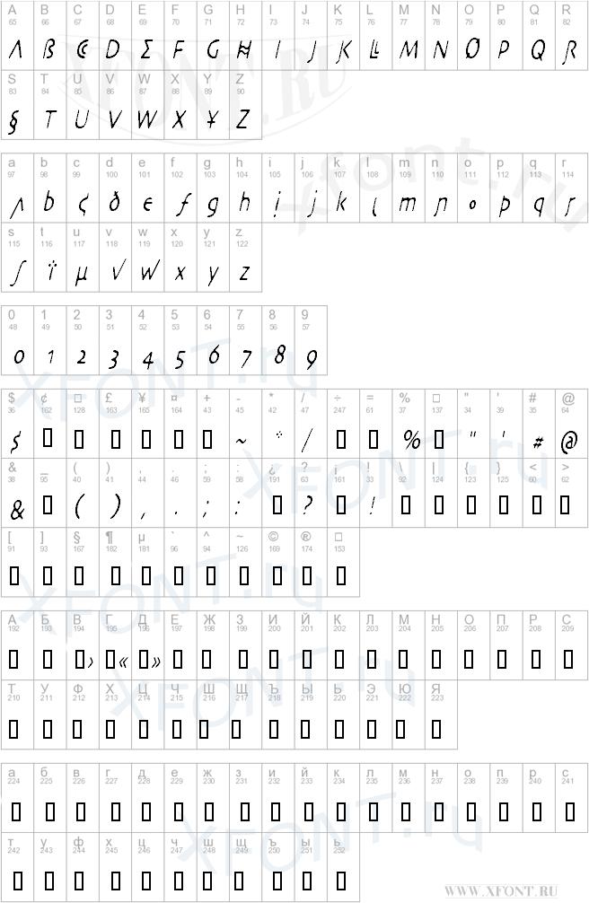 DesertCryptCondensed Oblique
