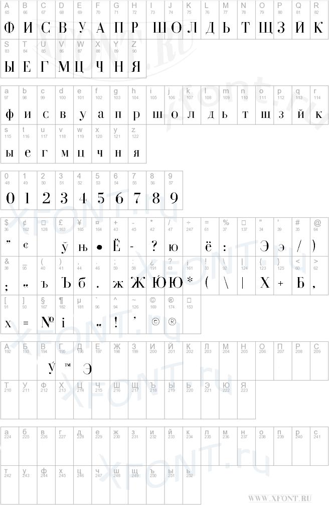 Cyrillic-Normal