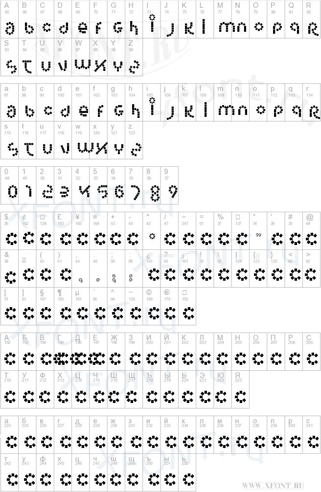 Шрифты для корела