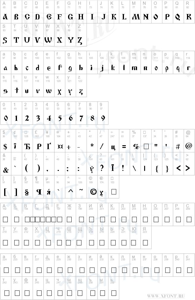 Cyrillic Old