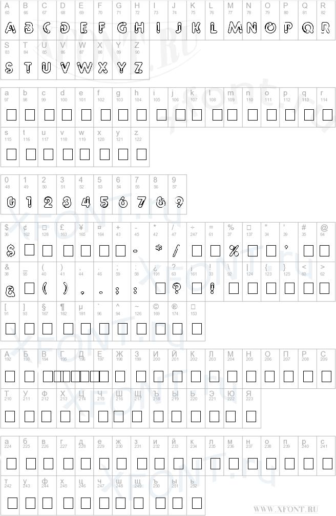 СКАЧАТЬ ШРИФТЫ БЕСПЛАТНО  Каталог шрифтов красивые