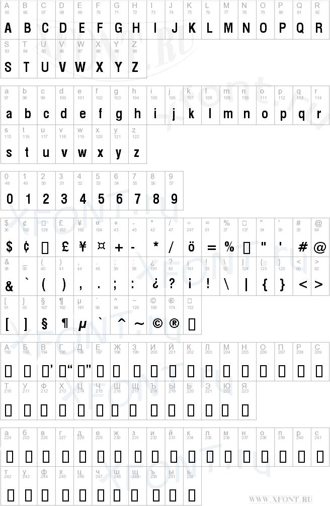 Swiss 721 Bold Condensed BT